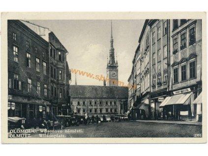 41 – Olomouc, Wilsonovo náměstí, ca 1934