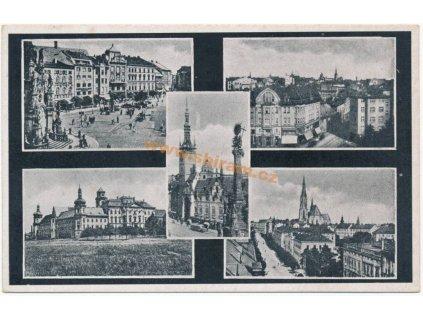 41 – Olomouc, záběry města, ca 1944