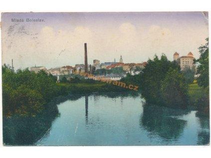 36 – Mladá Boleslav, celkový pohled, ca 1914