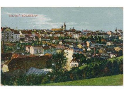 36 – Mladá Boleslav, celkový pohled, ca 1927