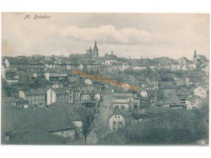 36 – Mladá Boleslav, celkový pohled, ca 1907