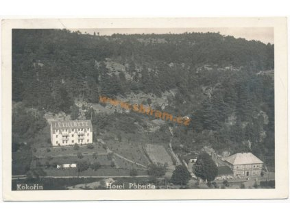 36 – Mladoboleslavsko, Kokořín, hotel Pobuda, ca 1947