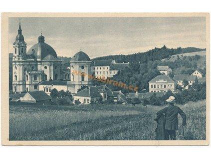 03 – Blansko, Křtiny, celkový pohled, ca 1930