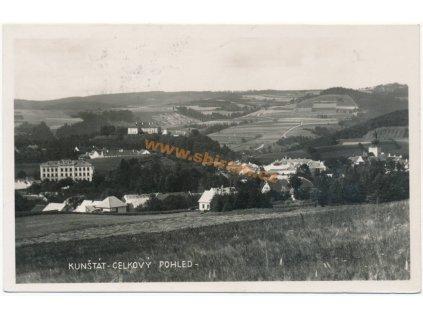 03 – Blansko, Kunštát, celkový pohled, ca 1937