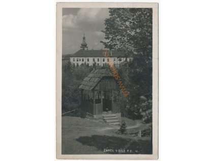 36 - Mladoboleslavsko, Bělá p. Bezdězem, Zámek, cca 1925