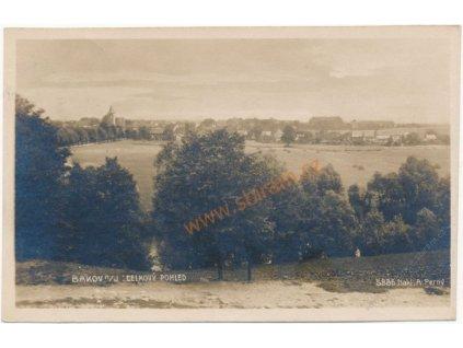 36 - Mladoboleslavsko, Bakov nad Jizerou, celkový pohled, cca 1923