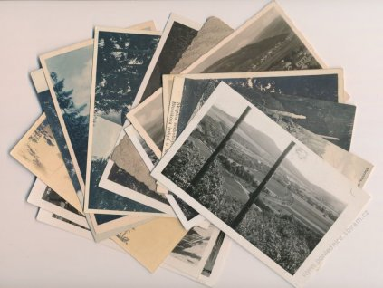 03-Blanensko, sestava 14-ti ks pohlednic zejména okresu, pěkné stavy...