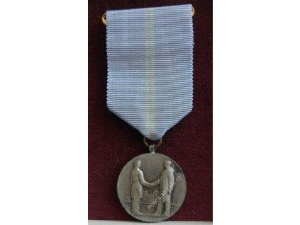 ČSSR, AE medaile Za dobrovolnou práci ve prospěch social. společnosti