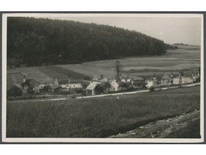 41 - Olomouc, Javoříčko (Luká), vypáleno komandem SS, cca 1945