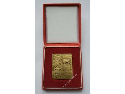ČSSR, AE medaile 25.let socialistického obchodu