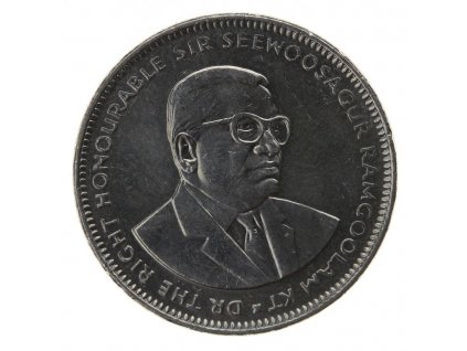 Mauritius, mince 1 Ruppe, 2009, RL