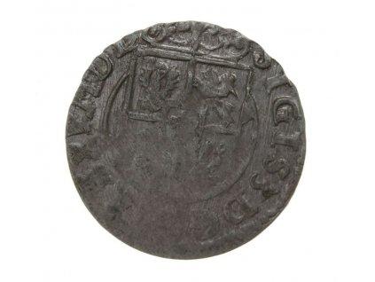 Polsko, Zikmund III., mince 1 Poltorak, Ag, stav 2/2