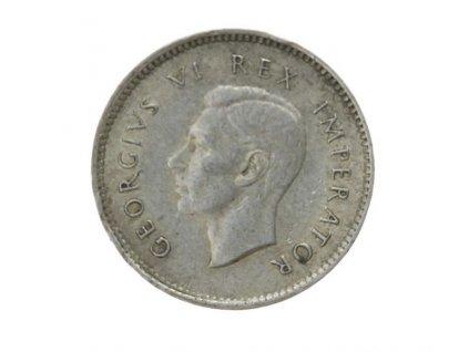 South Afrika, mince 3 P, 1937, stav 1/1