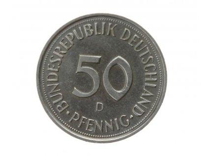 BDR, mince 50 Pfg., 1990 D, RL