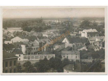 07 - Břeclav, celkový pohled na město, cca 1935
