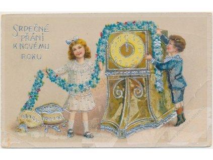 Srdečné přání k Novému roku, cca 1923