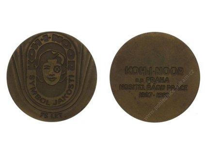 ČSSR, AE medaile Koh- I-Noor, 1982, 75.let výročí