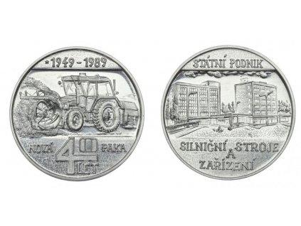 Nová Paka, AE medaile SP Silniční stroje a zařízení, 1989