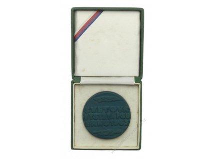 ČSSR, Kynologie, Brno, Biskvitová medaile Světová výstava psů, 1963