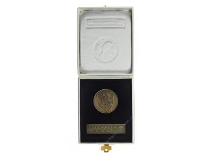 ČR, AE medaile 9.roty chemické ochrany SOR, 2003, štítek, krabička