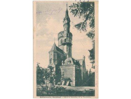 25 - Karlovy Vary, Goethova vyhlídka, cca 1930