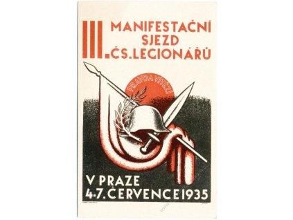 III. Manifestační sjezd Čs. legionářů, cca 1935
