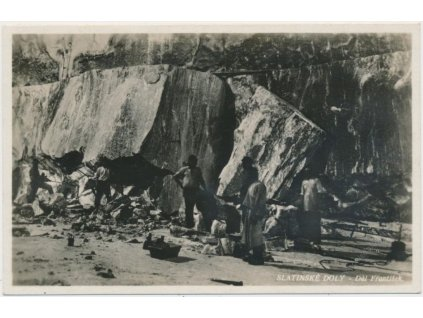 Slatinské doly, Důl František, cca 1934