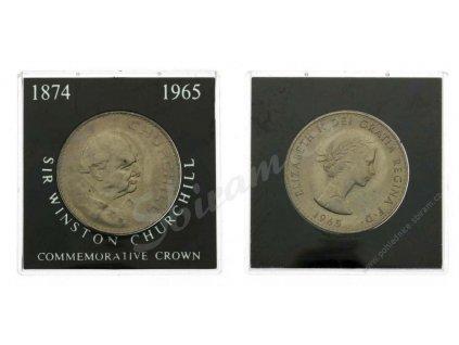 Anglie, 1 Commerative Crown, 1965, zapečetěná plastová etue