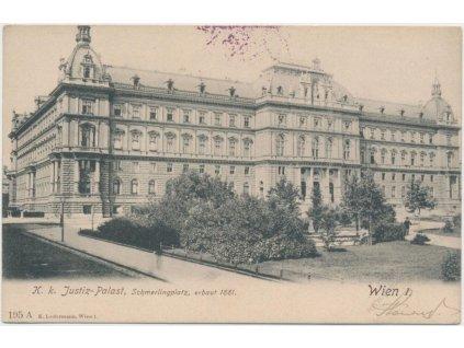 Rakousko, Wien, Justiz - Palast, Schmerlingplatz, cca 1906
