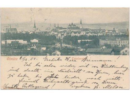 41 - Olomouc, celkový pohled na město, cca 1900