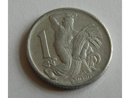 Mince 1 Kčs, 1952, 1/1