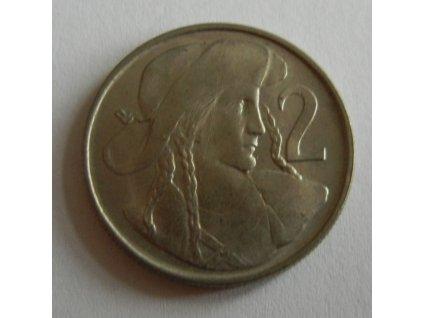 Mince 2 Kčs, 1947, 0/0