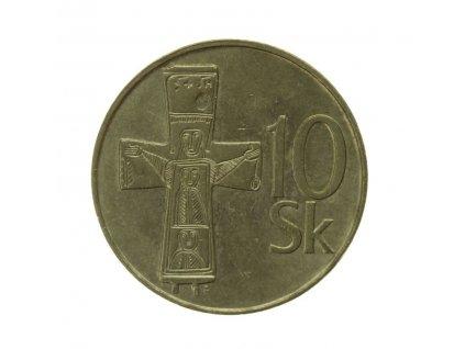 Slovensko, mince  10 K, 1994, stav 1/1