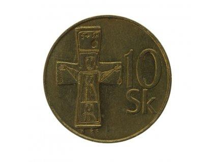 Slovensko, mince  10 K, 1995, stav 0/0