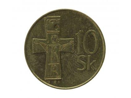 Slovensko, mince  10 K, 1995, stav 1/1