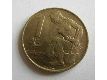 Mince 1Kčs 1991, 0/0
