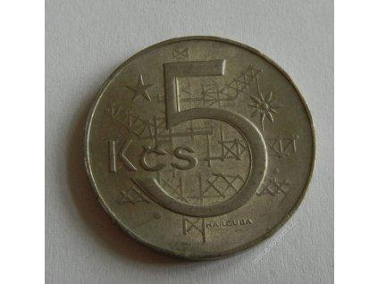 Mince 5 Kčs, 1983, 1/1