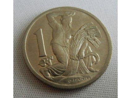 Mince 1Kč 1937,0/0