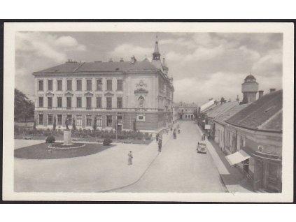 07 - Břeclav, Dukelská ulice, nakl. Orbis, cca 1948