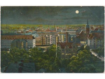 43 - Ostrava, pohled na město, nákl. J. Buchsbauma, cca 1914