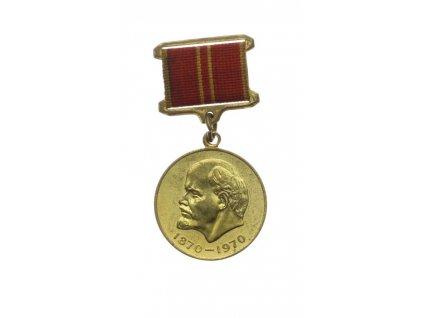 SSSR, Pamětní medaile V.I. Lenin, 1970, stuha, stav 1/1