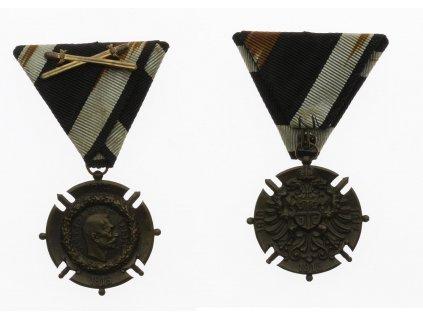 Srbsko, Bronzová pamětní medaile pro vojáky a dobrovolce