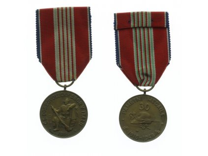 ČSR, Pamětní medaile československých dobrovol. sboru v Itálii