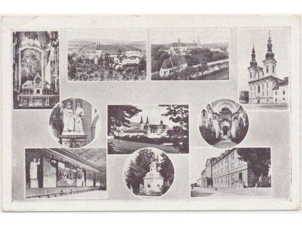 68 - Uherskohradišťsko, Velehrad, 10 - ti záběr dominant, Fototypia