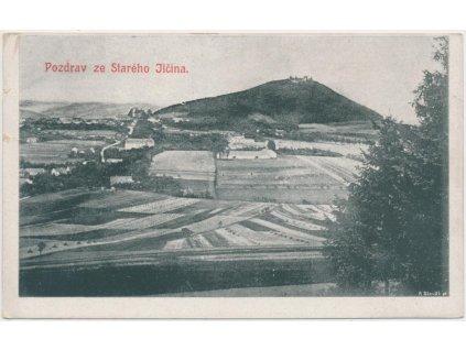39 - Novojičínsko, Starý Jičín, celkový pohled na obec, cca 1921