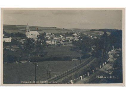 23 - Jihlavsko, Luka nad Jihlavou, celkový pohled, foto O. Knoll...