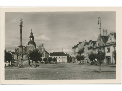 63 - Tachovsko, Stříbro, partie z Masarykova náměstí