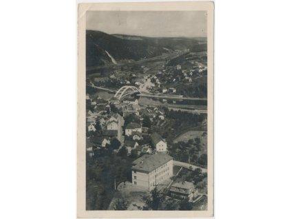 51 - Praha - západ, Štěchovice, celkový pohled na městys, cca 1932