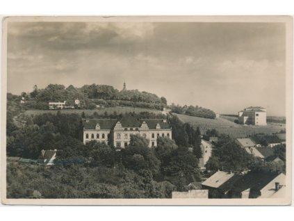 22 - Jičínsko, Hořice - Gothard, celkový pohled, cca 1936
