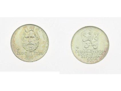 ČSSR, Ľudiovít Štúr, 1981, 500 Kčs, Ag, 24 gramů, kapsle, stav 0/0